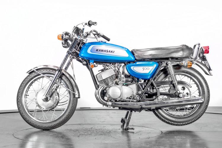 1971 Kawasaki 500 Mach III 0
