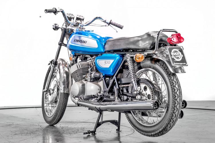 1971 Kawasaki 500 Mach III 7