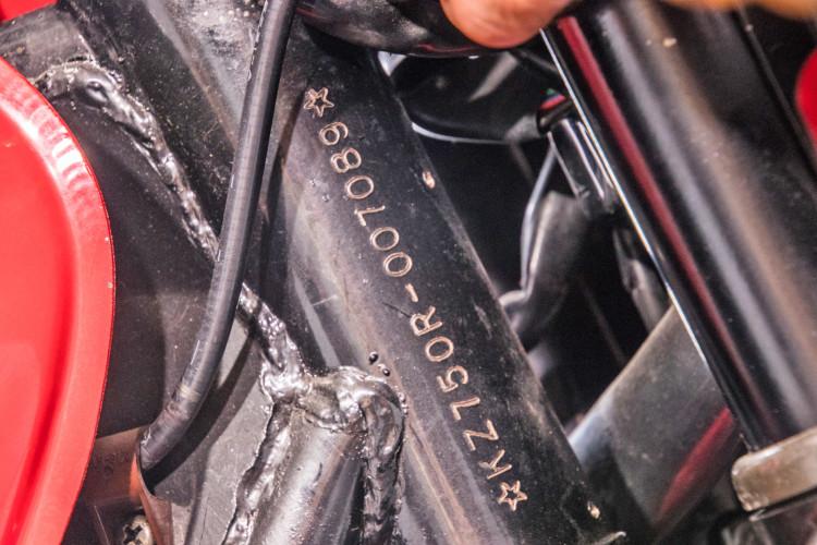 1983 Kawasaki GPz 750 R 16