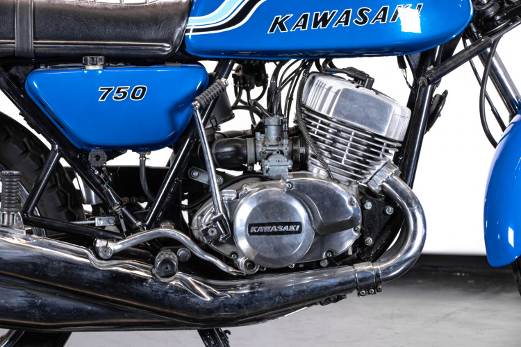 1972 Kawasaki H2 Mach 750 15