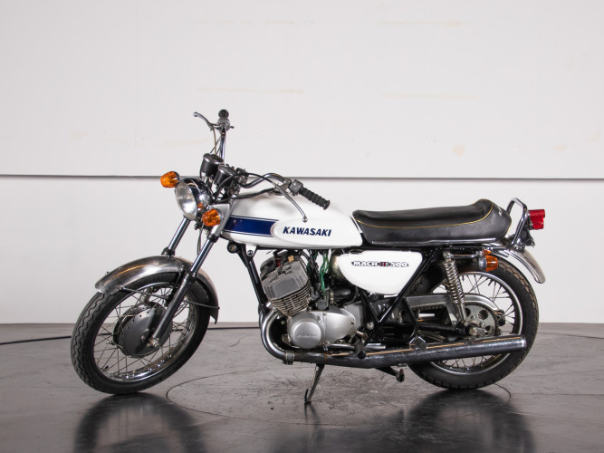 1969 Kawasaki 500 H1 MACH III 3