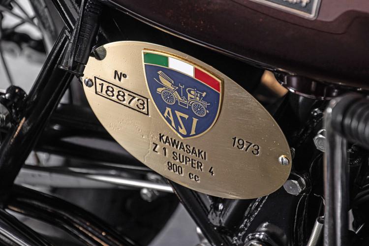 1973 Kawasaki ZI Super 4 17