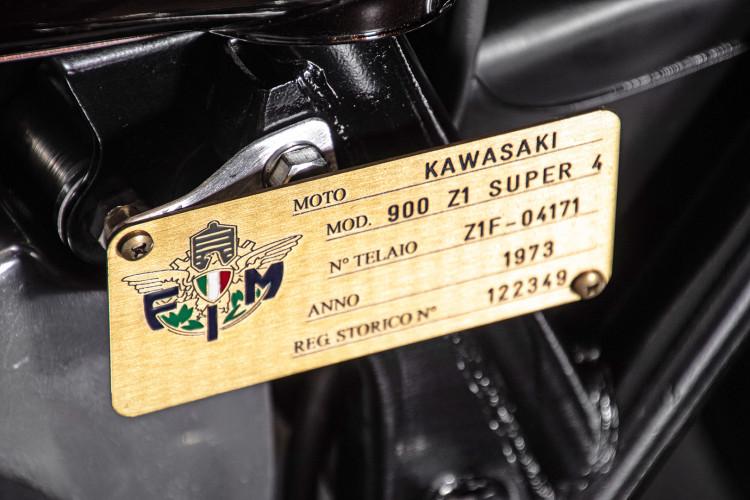 1973 Kawasaki ZI Super 4 22