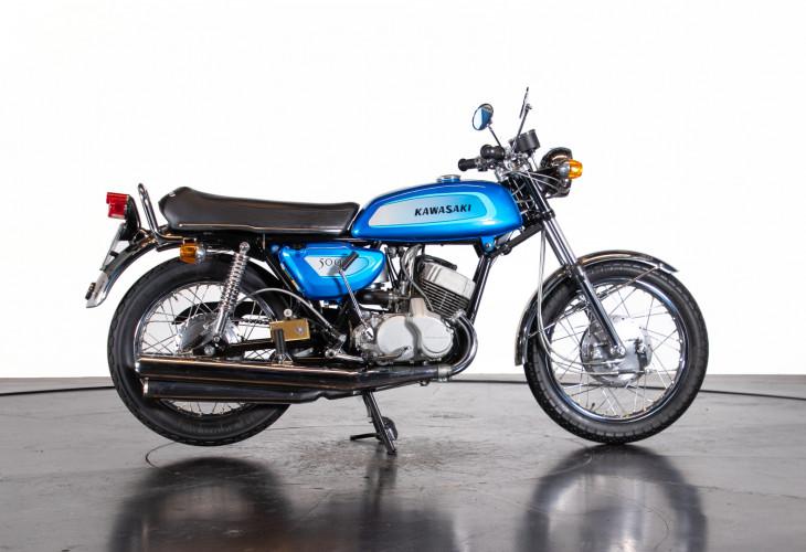 1971 KAWASAKI H1 MACH III 2