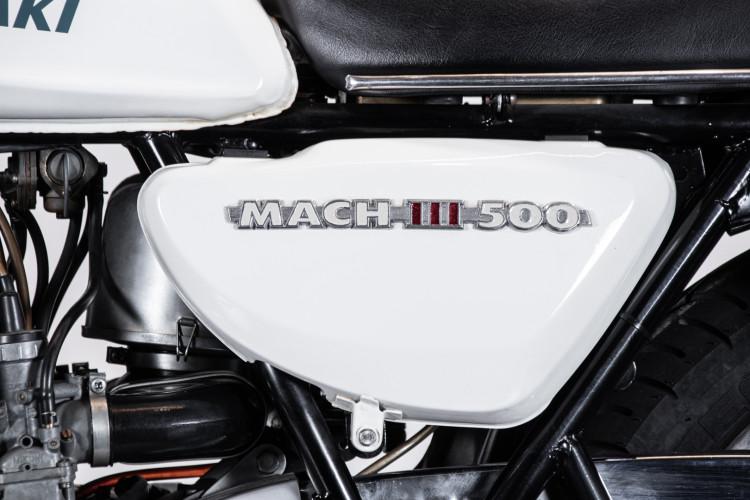 1970 Kawasaki Mach III H1 500 6