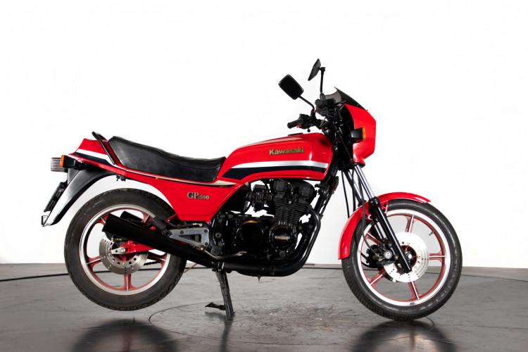 1983 Kawasaki KZ 550 0