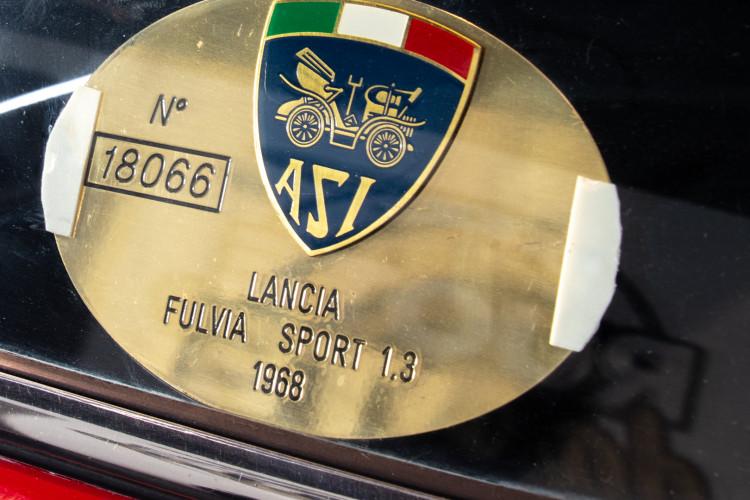 1968 Lancia Fulvia sport Zagato 10