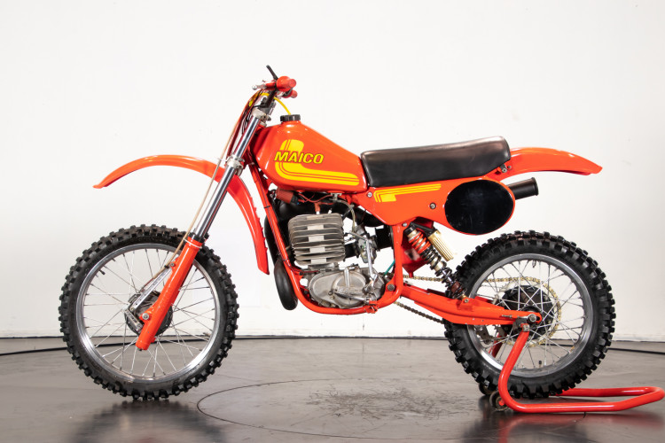 1981 Maico Cross 250 con motore 400 0