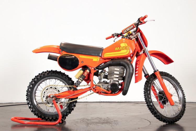 1981 Maico Cross 250 con motore 400 4