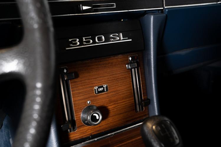 1973 Mercedes-Benz 350 SL Cabrio 22