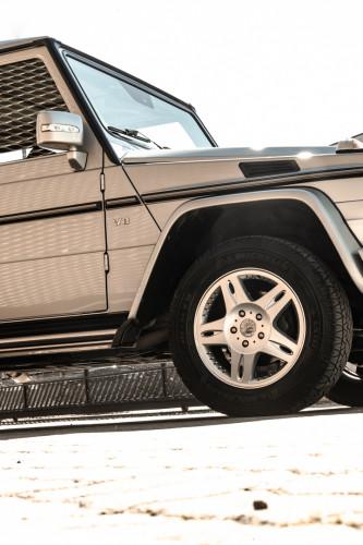 2003 Mercedes-Benz G400 V8 CDI 10