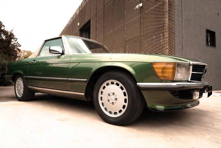 1986 Mercedes-Benz SL 300 6