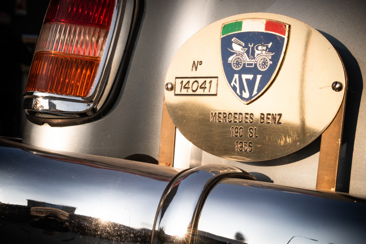 1956 Mercedes-Benz 190 SL 11