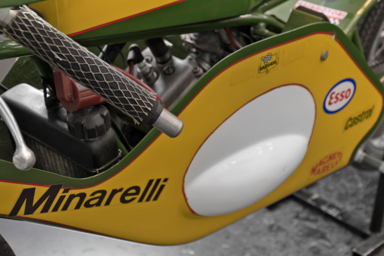 1972 Minarelli GP 50 Liquid Cooled 10