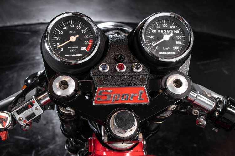 1975 Moto Morini Sport 350 14