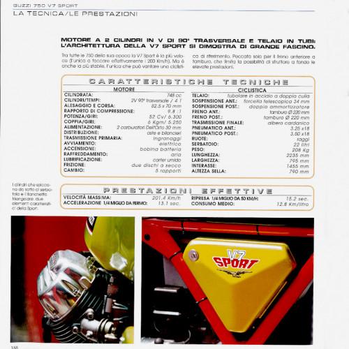 1972 Moto Guzzi V7 Sport Telaio Rosso 41