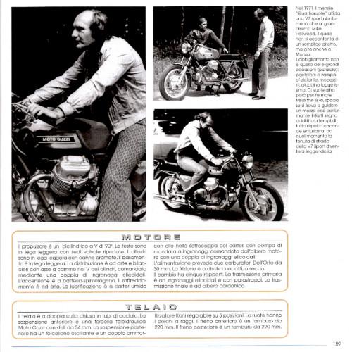 1972 Moto Guzzi V7 Sport Telaio Rosso 42