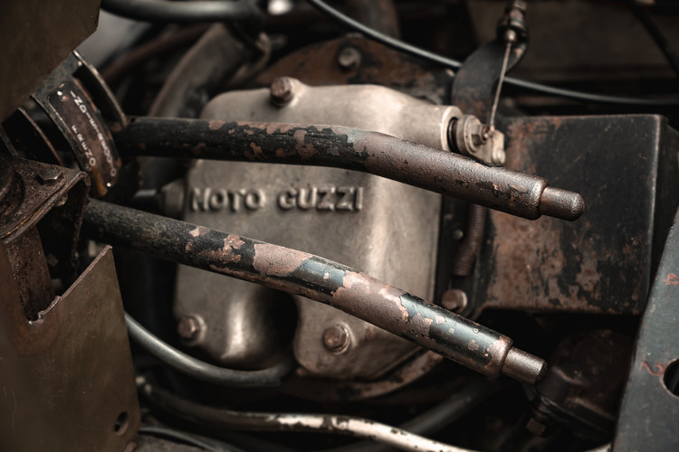 1960 Moto Guzzi Mulo Meccanico 25