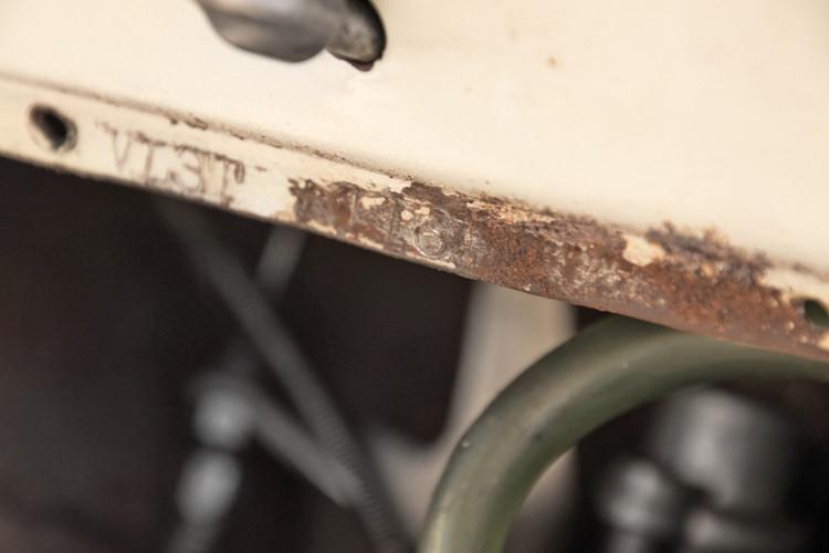 1956 Piaggio Vespa Struzzo vl3  17