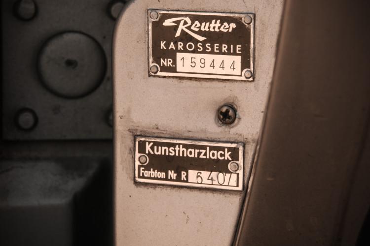 "1963 Porsche 356 C 1600 Cabrio ""Reutter"" 27"