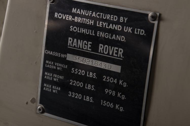 1976 RANGE ROVER 29