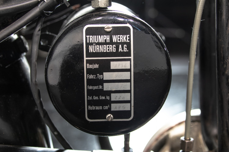 1936 Triumph TWN B204 19
