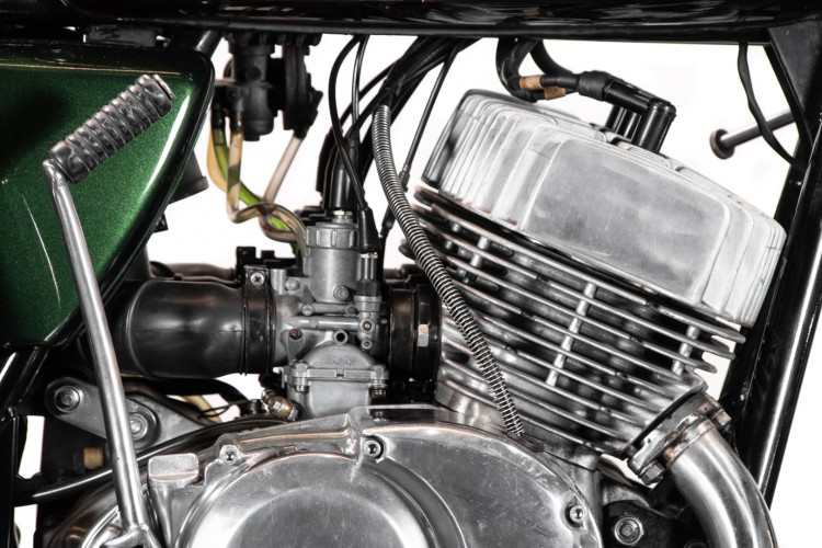 1974 Kawasaki Mach IV 750 11