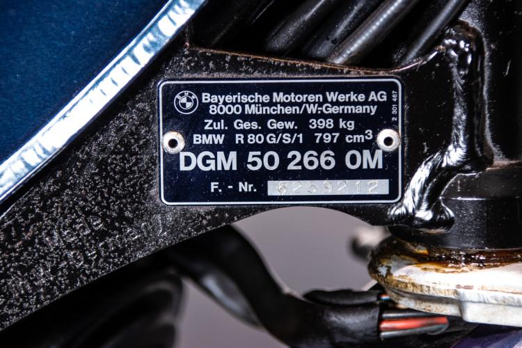 1979 BMW GS 80 11