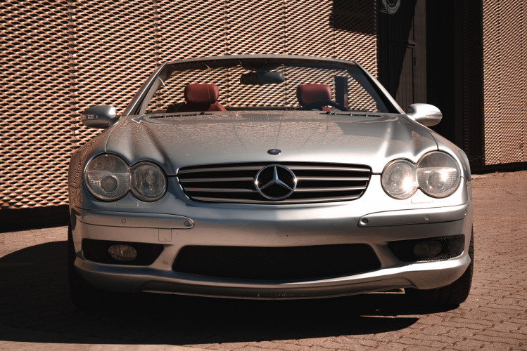 2002 Mercedes Benz SL55 AMG 9