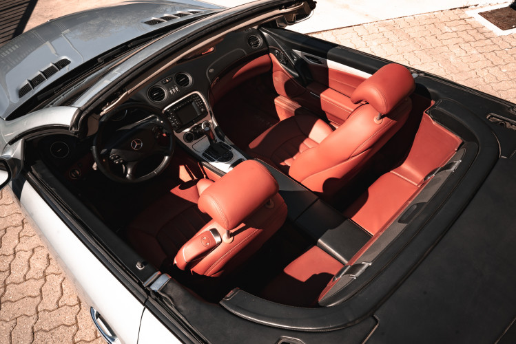 2002 Mercedes Benz SL55 AMG 15