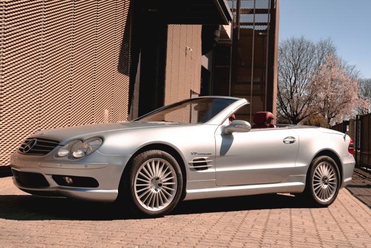2002 Mercedes Benz SL55 AMG 1