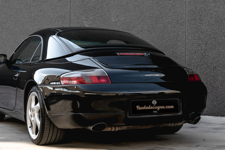 2001 Porsche 996 Carrera Cabrio 5