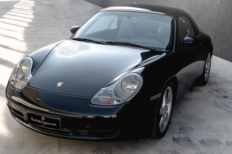 2001 Porsche 996 Carrera Cabrio 0