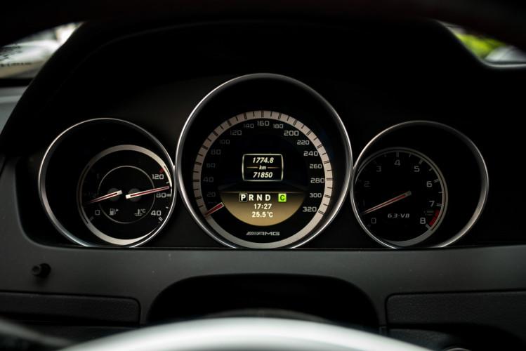 2012 Mercedes-Benz C63 AMG Black Series 55