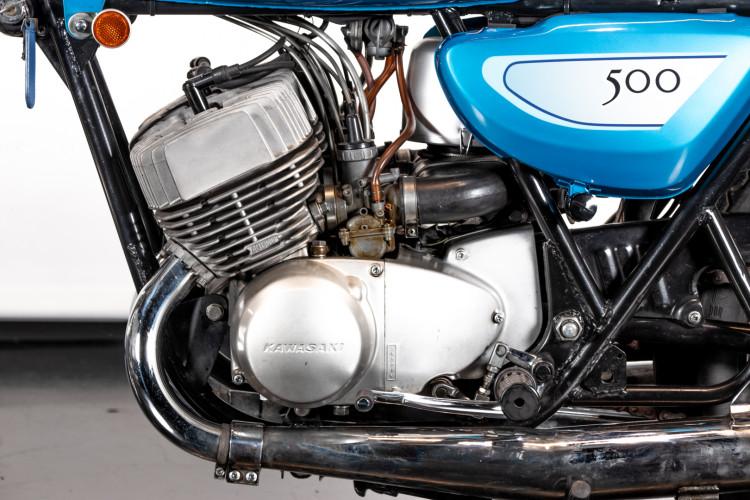 1971 Kawasaki Mach III H1 500 11