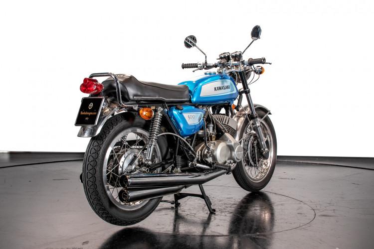 1971 Kawasaki Mach III H1 500 5