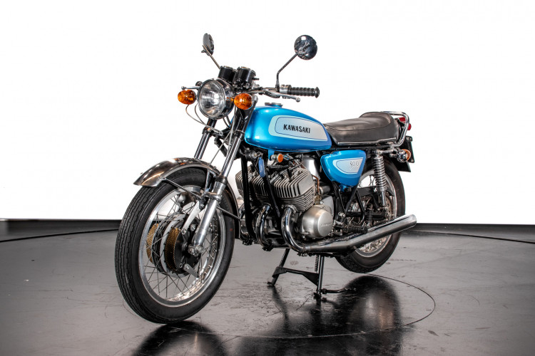 1971 Kawasaki Mach III H1 500 3