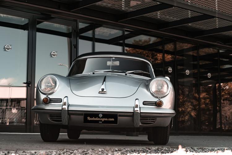 1963 Porsche 356 B 1600 S Cabriolet 6