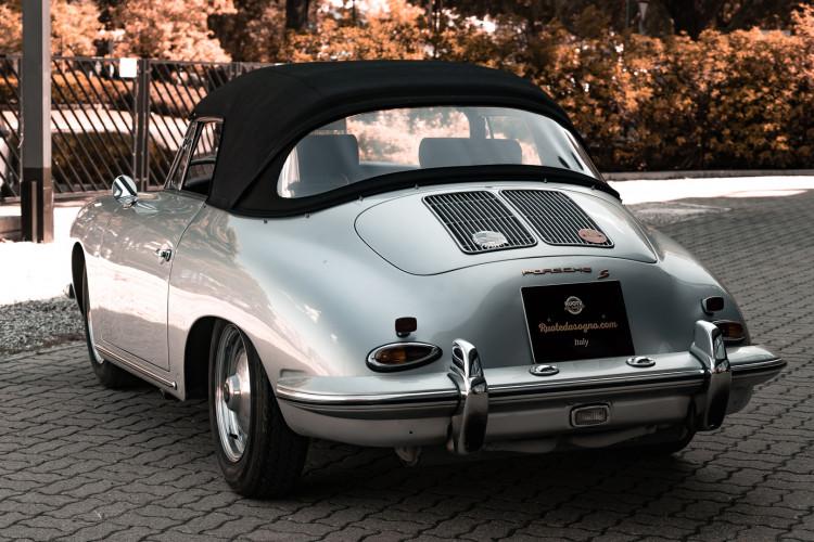 1963 Porsche 356 B 1600 S Cabriolet 7