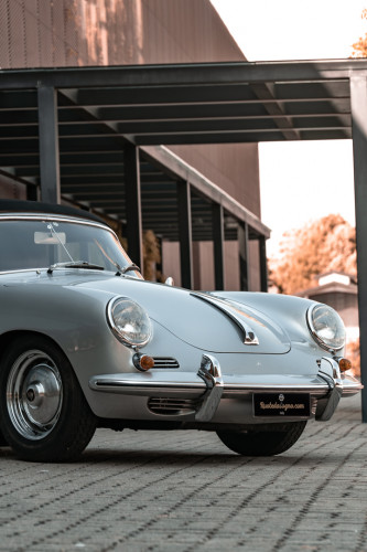 1963 Porsche 356 B 1600 S Cabriolet 4