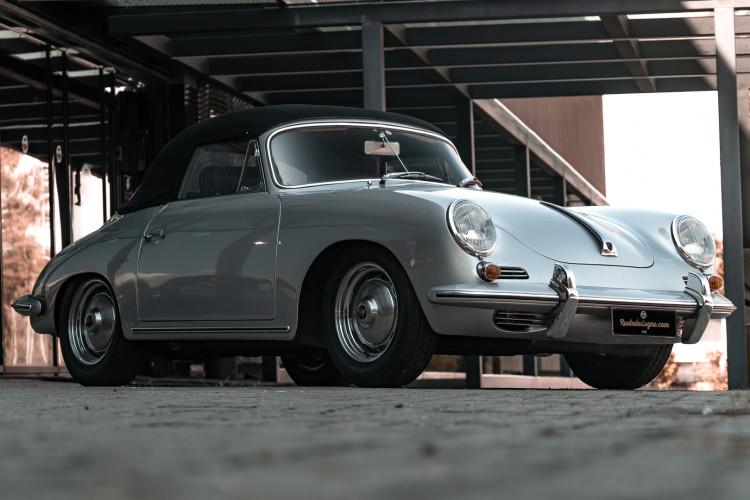 1963 Porsche 356 B 1600 S Cabriolet 0