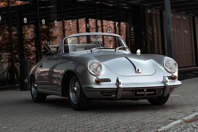 1963 Porsche 356 B 1600 S Cabriolet 11