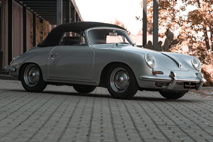 1963 Porsche 356 B 1600 S Cabriolet 1