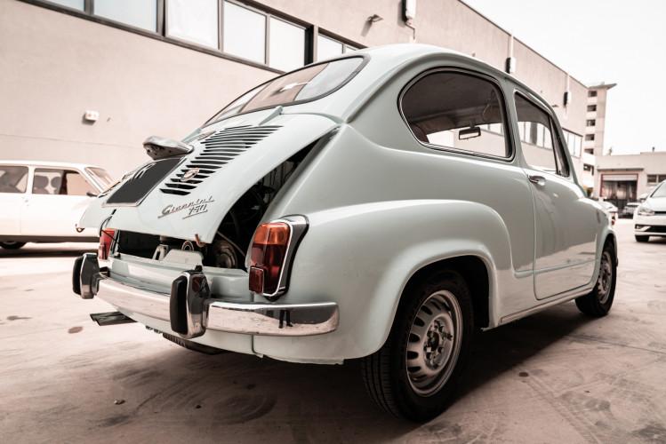 1968 Fiat Giannini 750 TV Turismo Veloce 5