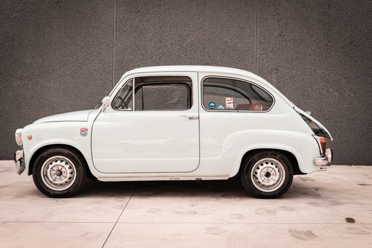 1968 Fiat Giannini 750 TV Turismo Veloce 6