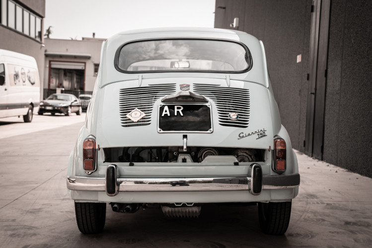 1968 Fiat Giannini 750 TV Turismo Veloce 4