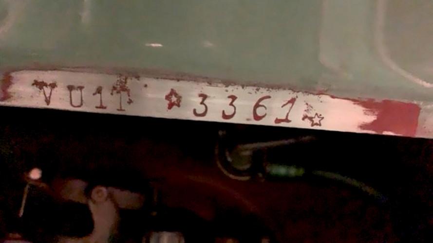 1953 VESPA 125 U 23