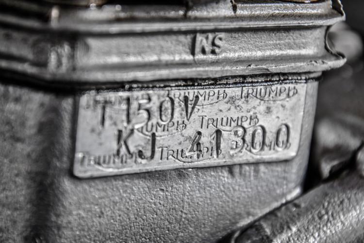 1974 Triumph T150 13