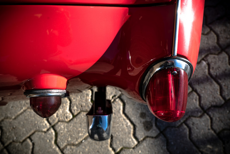 """1958 Triumph TR3A """"Bocca Stretta"""" 9"""