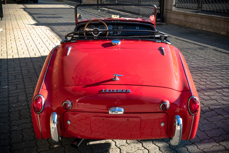 """1958 Triumph TR3A """"Bocca Stretta"""" 10"""